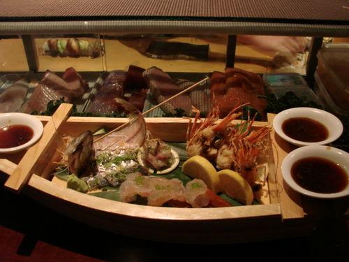 BaSu sashimi boat