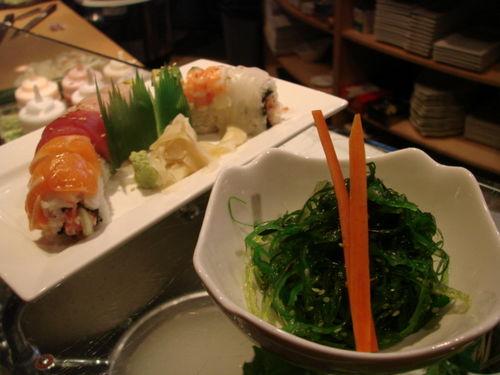 BaSu roll and salad