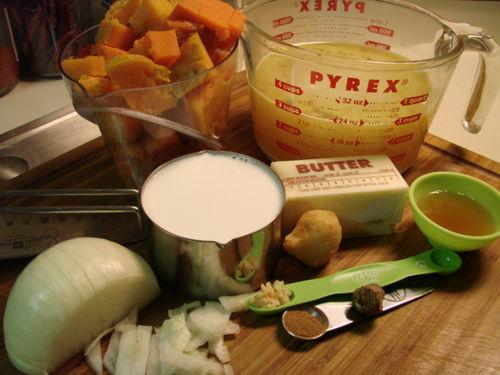 Brandied soup ingred