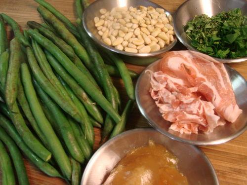 Green beans ingred