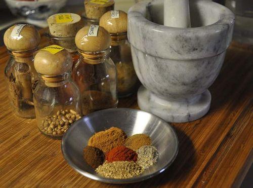 Murg Makhani spices