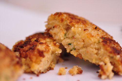 Falafel cooked close