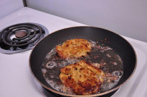 Falafel larger patties
