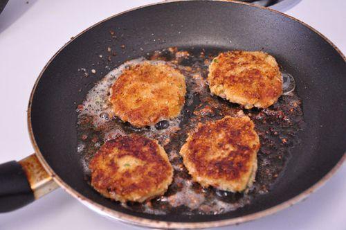 Falafel smaller patties