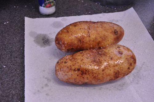 Stuffed potatoes potatoes