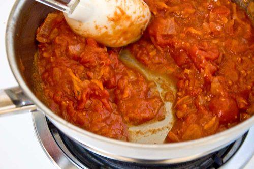 Tomato saucek finished sauce