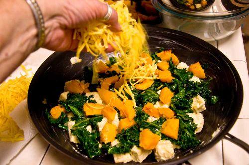 Bpu top with cheese