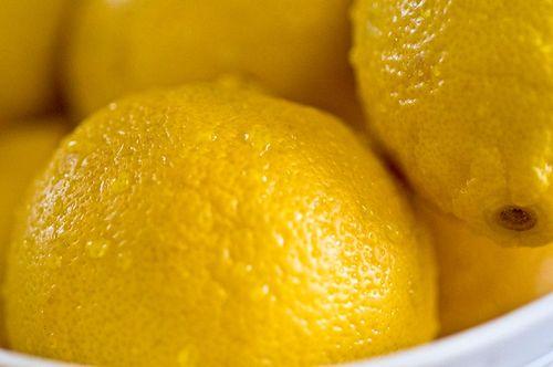 Preserved lemons wash lemons