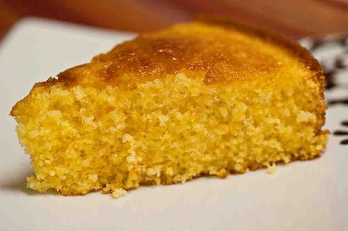 Cornmeal Cake with Rosemary Syrup (koko's corner)