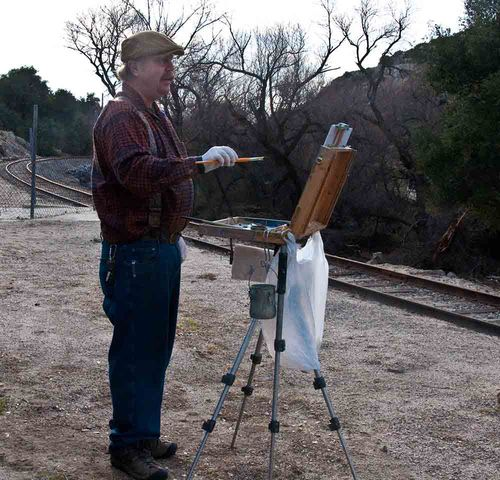 Roadside painter